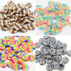 50/100pcs 4 Holes Round Pattern Clothes DIY Resin Buttons Sewing Scrapbooking