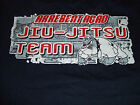 ARREBENTACAO TEAM JIU JITSU BLUE T SHIRT BJJ FIGHT VALE TUDO MMA SIZES L-XL