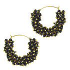 Chand bali earrings pearl hoops hoop earings bridal India traditional bali V735K