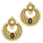 Pearl sets earrings bridal jewellery sets kundan Indian jewellery ABEA0320