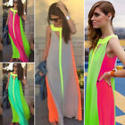 New Chiffon Womens Casual Evening Cocktail Long Party Dress Summer Beach Prom