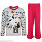 Kids Girls Boys SANTAS LITTLE HELPER Christmas Pyjamas And YA FILTHY PJ'S 1-8