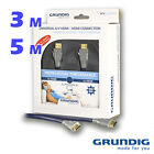 CABLE HDMI GRUNDIG USO PROFESIONAL. 3 y 5 m. EXCELENTE CALIDAD AUDIO VIDEO