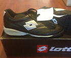 LOTTO TURF SPORT SHOES US 5 CALCIO BLACK/SILVER