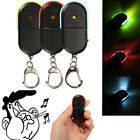 Wireless Whistle Voice Control Keychains LED Anti-Lost Key Finder Alarm Dulcet