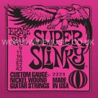 Ernie Ball Slinky Guitar strings with Choice of 20 Gauges - Including singles