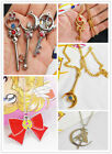 Great Sailor Moon Metal Crystal Alloy Necklace Pendant Cosplay Prop Gift 7Styles