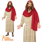 Adult Deluxe Jesus Costume Mens Religious Nativity Fancy Dress Outfit New