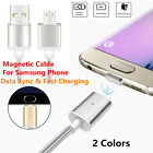 Micro USB Braided Magnetic Fast Data&Sync Charger Cable Cord For Android Samsung