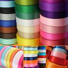 DOUBLE SIDED FACED SATIN RIBBON - 23 Metre Reels, 6mm widths.
