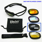 Military Goggles Daisy C5 4 Lenses Outdoor Sports Hunting Polarized Sunglasses