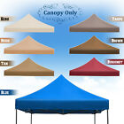 New 10x10' Ez POP UP Replacement Canopy Instant Gazebo Tent Polyester Cover