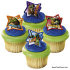 NINJA TURTLES CAKE CupCake Cake Topper 12 18 24 Favors Decoration Kit RALPH MIKE
