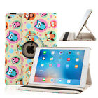 360 Rotating Folio Leather Case Smart Cover for Apple iPad 2 3 4/Mini/Air 2/Pro