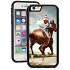 For iPhone SE 5 5s 5c 6 6s Plus Shockproof Impact Hard Case 1568 Racing Horse