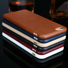 Luxury Ultrathin Leather Soft Gel TPU Back Case Cover For iPhone X 8 8+ 7 6/6s