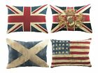 Tapestry Flag Cushions, filled cushion, union jack, St Andrew, Stars and Stri...