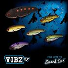 1 x HURRICANE VIBZ 37 Blade Vibe Lure Lures Crankbait Bream Tournament