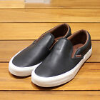 new mens 11.5 vaNs authentic classic slip on CA veggie leather black