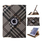 360 Rotating Luxury Leather Smart Case Cover Stand For ipad pro/mini/2 3 4/Air 2