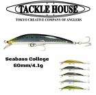 Tackle House Minnow Lure Seabass College 60Ss