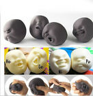 New 1x Vent Human Face Ball Toy Anti-stress Relieve Pressure Wreak Toy