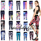 sexy in yoga pants - Sexy Womens High Waist Fitness YOGA Sport pants Printed Stretch Cropped Leggings