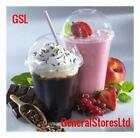 Catering Grade Smoothie Cups with Dome Lids - Sizes - 12oz 400ml, 16oz 500ml