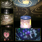 Romantic Cosmos Moon Starry Sky Star Master Night Light LED Projector Mood Lamp