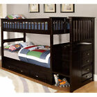Outdoor Leisure Products Mission Staircase Bunk Bed with Reversible Staircase