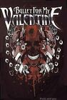 Bullet For My Valentine T-Shirt Skull Logo BFMV metal rock Official 3XL XXXL NWT