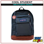 JANSPORT COOL STUDENT Backpack New Student Book Bag BIG STUDENT Black Red Gray