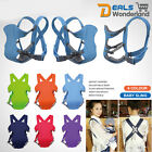 Adjustable Infant Carrier Baby Sling Breastfeeding Wrap Backpack Breathable