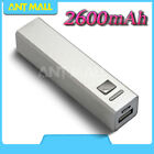 2600mAh Power Bank Pack Handy USB Battery Charger For iPhone Samsung HUAWEI HTC