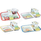 Churchill Nursery Rhymes Melamine Feeding Tray & Cup Set Noah's Ark Cinderella