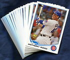 2013 Topps Chicago Cubs Baseball Card Your Choice - You Pick