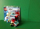LEGO City Fireman's Car (30001) complete With Immaculate Instructions & Poly Bag