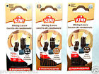 NEW 1 Pair Premium Braided Cord Hiking Boot Laces Strings Black Brown or 2-Tone