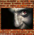 HANNIBAL LECTOR COOL FILM CANVAS WALL ART BOX PRINT PICTURE SMALL/MEDIUM/LARGE