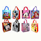 8 DISNEY MICKEY MINNIE ARIEL SHOPPING BEACH TOTE BAG BIRTHDAY PARTY GIFT BAGS NW