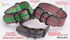 peacock 3color OB Five rings military nylon watch band watch strap