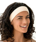 Towelling Make Up Cosmetic Hair Band Adjustable Fashy White, Black, Yellow, Crea