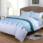 NEW Bedding Pillowcases Duvet Cover Quilt Cover Set King Size 2 Types UK STOCK