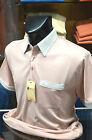 Gabicci Classic Jersey Polo Shirt (Sizes: Medium to XXL) in 'Old Rose' G36X13