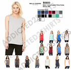 B8803 Bella + Canvas Tank Top Solid Flowy Scoop Muscle T-Shirt Women's S-2XL