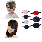 Adult Kids Silk Pirate Eye Patch Mask Eyeshade Elastic for Amblyopia Lazy Eye