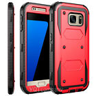 For Samsung Galaxy J7 S7 Edge S8 S9 Note10 Phone Case Rugged Armor Holster Cover