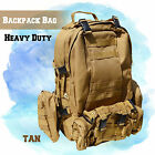 US Large Army Hunting Tactical Assault Backpack Camping Hiking Rucksack Trek Bag