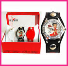 Betty Boop Wrist watch EXCHANGE 3 PIECE STRAPS IN TREE COLORS Gift watch Set $19.99 USD