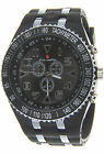 New SuperTrandy Men's Sport Watch with Plastic Bezel & Band By Luis Cardini